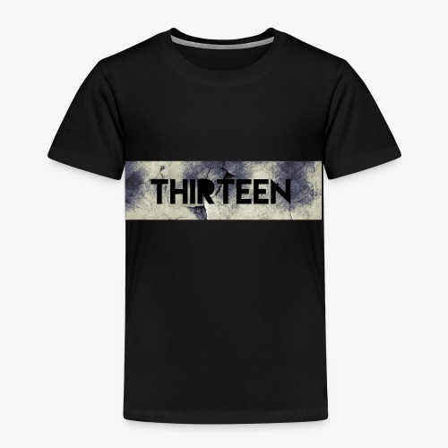 Box Logo Thirteen - Kinderen Premium T-shirt