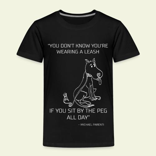 Hundcitat - Premium-T-shirt barn