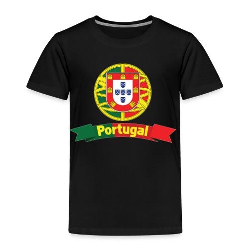 Portugal Campeão Europeu Camisolas de Futebol - Kids' Premium T-Shirt