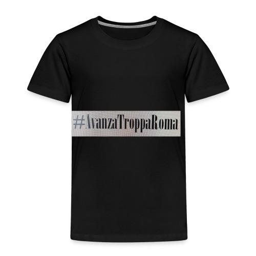 Avanza Troppa Roma - Maglietta Premium per bambini
