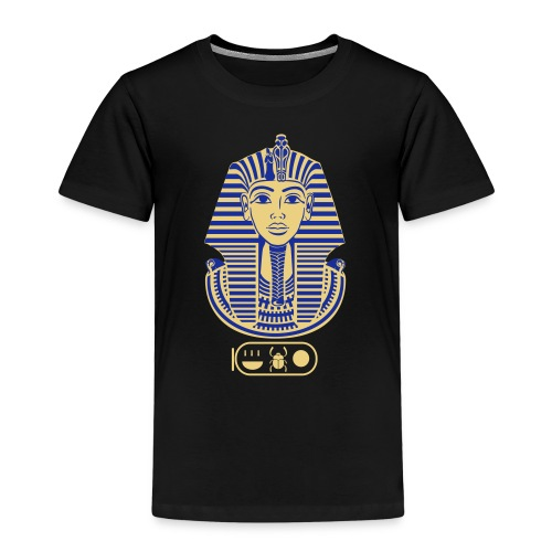 Tutanchamun (zweifarbig) - Kinder Premium T-Shirt