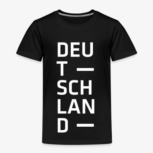 Deutschland Typo T Shirt Spruch weiss - Kinder Premium T-Shirt