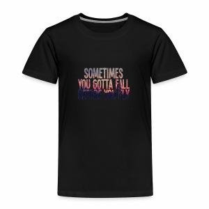 Fly - Premium T-skjorte for barn