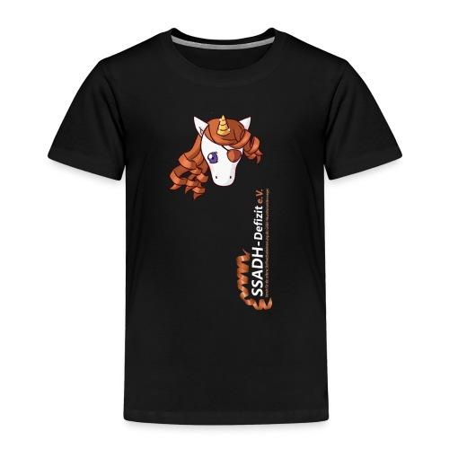 T Shirt schwarz SSADH-Defizit e.V. - Kinder Premium T-Shirt