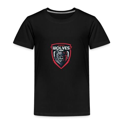 Wolves Logo - Kinder Premium T-Shirt