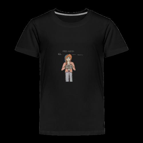 Free Alexia Design (Transparent) - Kids' Premium T-Shirt