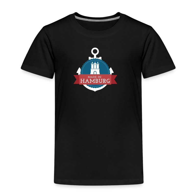 Made in Hamburg - Kinder Premium T-Shirt