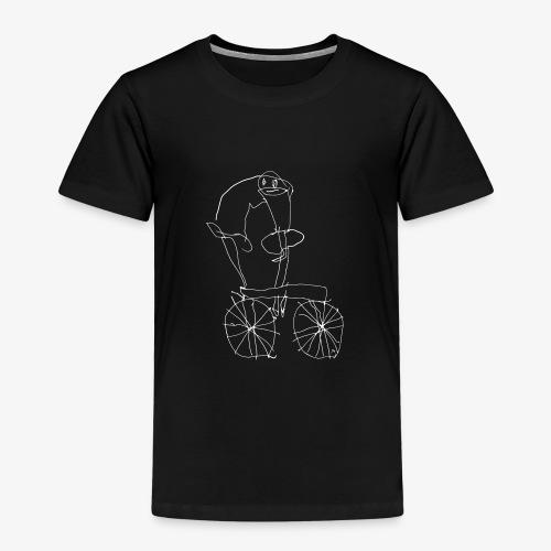 papaaufdemfahrrad - Kids' Premium T-Shirt