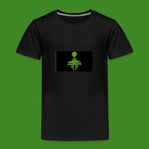 Green spiderman - Kids' Premium T-Shirt