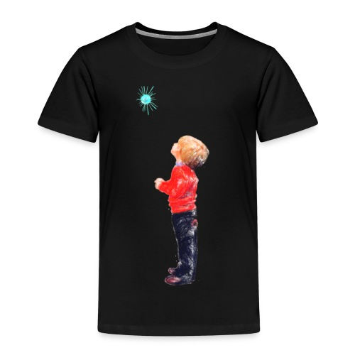 The Boy and the Blue - Kids' Premium T-Shirt
