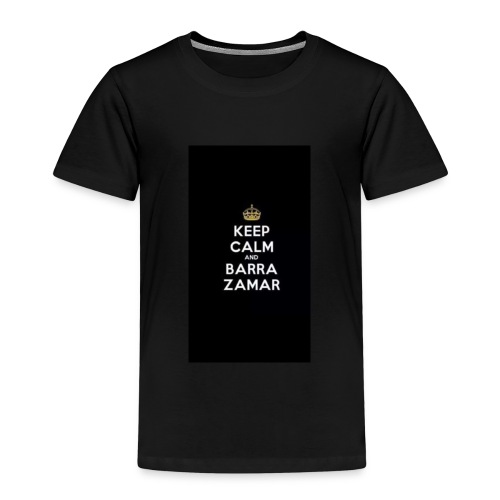 Keep Calm and barra zamer - Kinder Premium T-Shirt