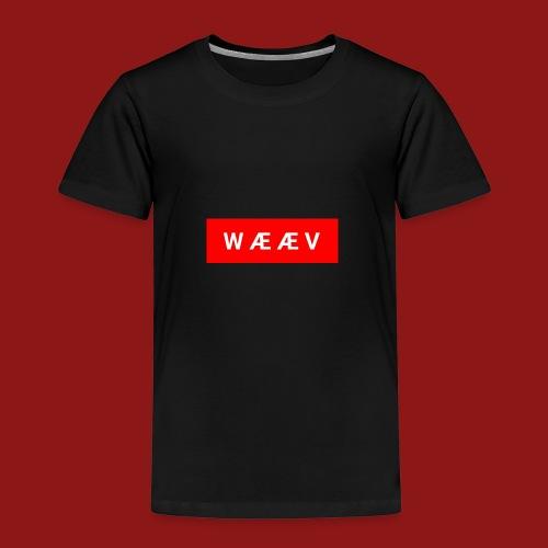 WÆÆV - Premium T-skjorte for barn