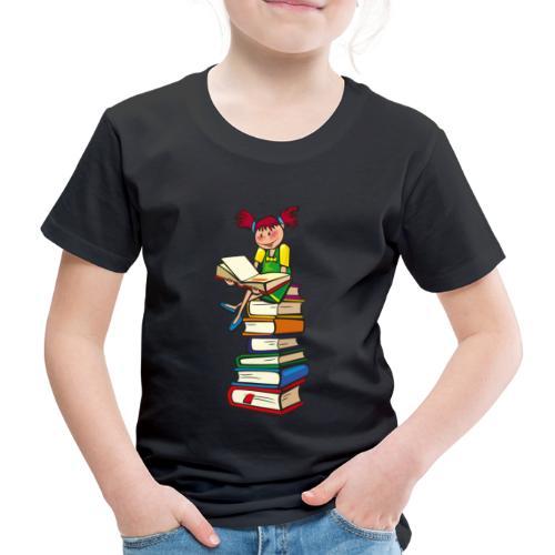Schulmädchen - Kinder Premium T-Shirt