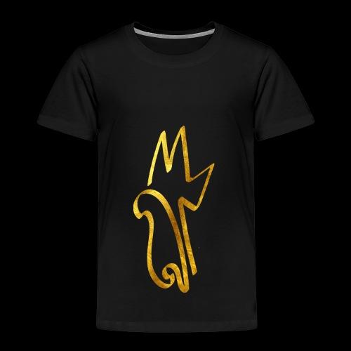 Gold Meemiphes Logo - Lasten premium t-paita