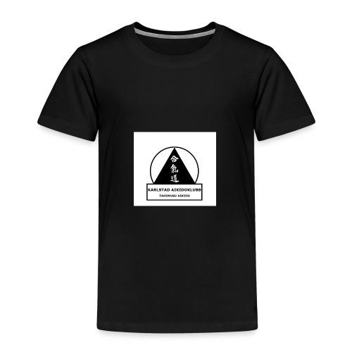 Logga Karlstad Aikidoklubb - Premium-T-shirt barn