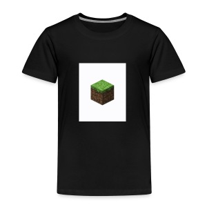 grass block minecraft - Kinderen Premium T-shirt