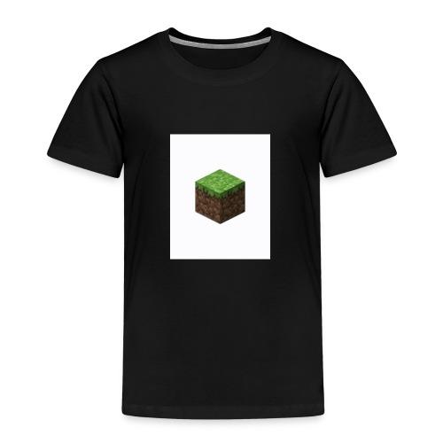 grass block minecraft - Kinderen Premium T-shirt