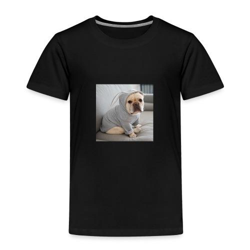 Bulldoge im Hase - Kinder Premium T-Shirt