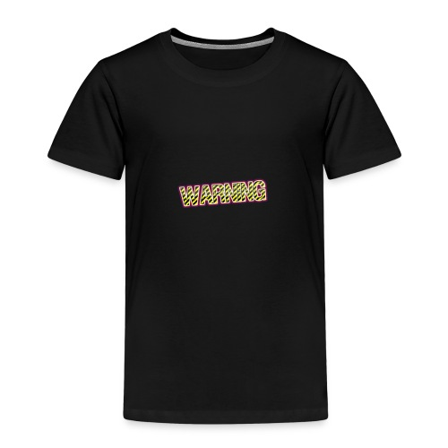warning - Kids' Premium T-Shirt
