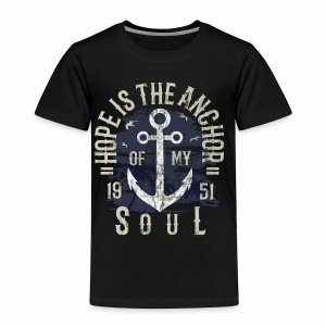 HOPE IS MY ANCHOR - Maritimes Anker Shirt Motiv - Kinder Premium T-Shirt