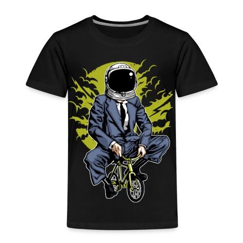 MOND RADLER - Kosmonauten Radfahrer Geschenk Shirt - Kinder Premium T-Shirt