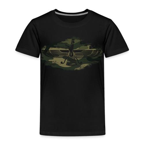 Farvahar Camouflage - Kinder Premium T-Shirt