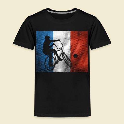 Radball   Flagge Frankreich - Kinder Premium T-Shirt