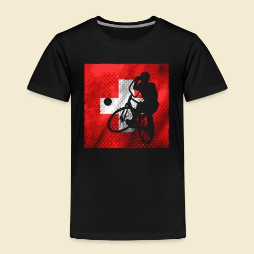 Radball   Flagge Schweiz - Kinder Premium T-Shirt