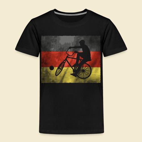 Radball   Flagge Deutschland - Kinder Premium T-Shirt