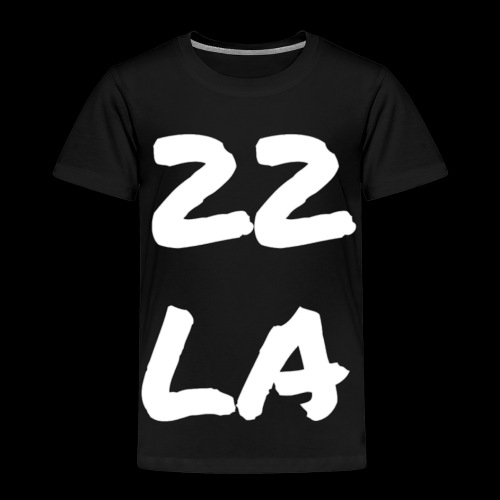 22 LA - Kinder Premium T-Shirt