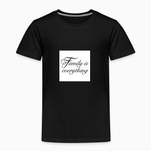 Family is everything - Børne premium T-shirt