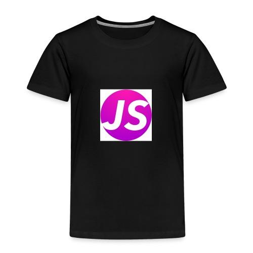 t shirt wit met logo - Kinderen Premium T-shirt