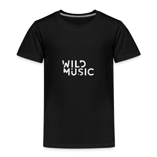 Wild Music Logo - Blanco - Camiseta premium niño