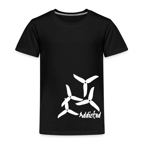 addicted (white) with props - Kinderen Premium T-shirt
