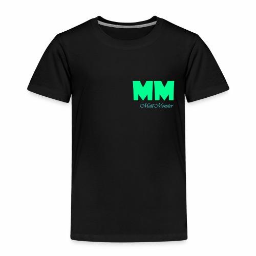 MattMonster Signature logo - Kids' Premium T-Shirt