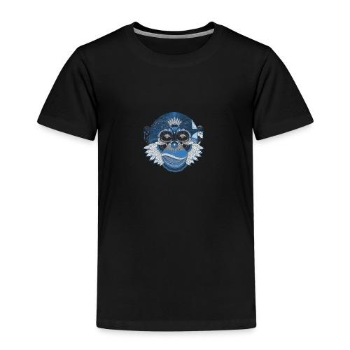 The Calm Monkey - Maglietta Premium per bambini