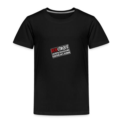 Logo EcocirqueBouglione Blanc - T-shirt Premium Enfant
