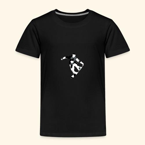camouflage schwarz snowboarda Von Nuke - Kinder Premium T-Shirt