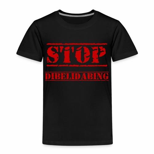STOP Dibelidabing (bordeaux) - T-shirt Premium Enfant