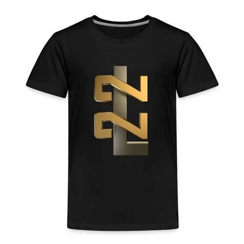 L22 Classic Logo - Premium-T-shirt barn