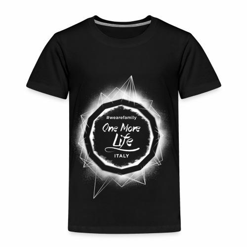 OneMoreLife - Maglietta Premium per bambini