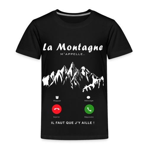 montagne - T-shirt Premium Enfant