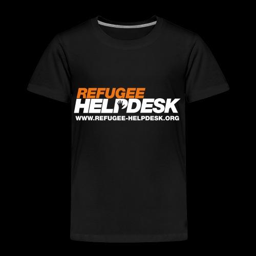Refugee Helpdesk Logo (Bright) - Kinder Premium T-Shirt