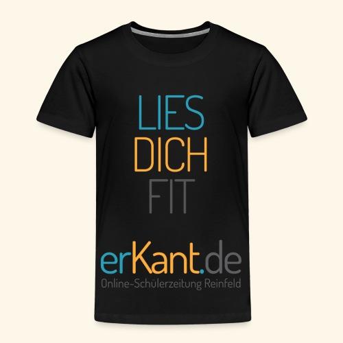 Lies dich fit mit Erkant.de - Kinder Premium T-Shirt