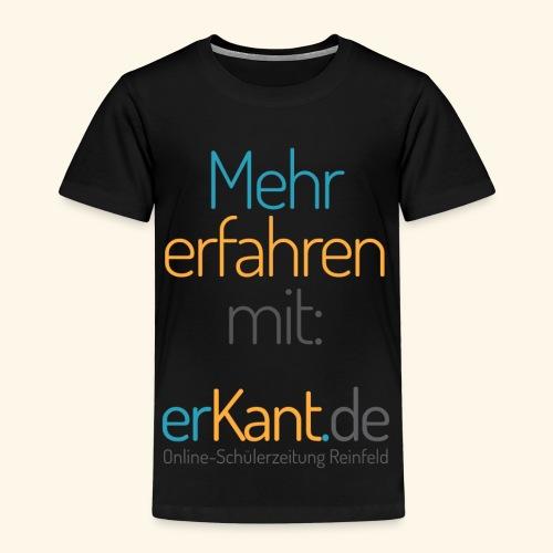 Mehr erfahren mit ... Erkant. de - - Kinder Premium T-Shirt