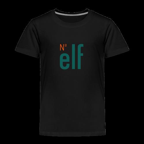 No. elf Logo - Kinder Premium T-Shirt