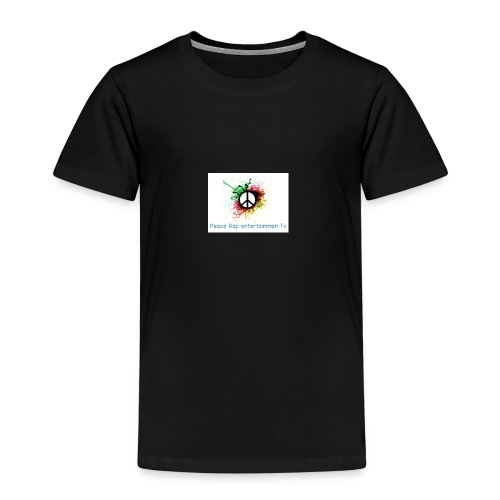 Peace rap entertainmen Tv - Kinder Premium T-Shirt