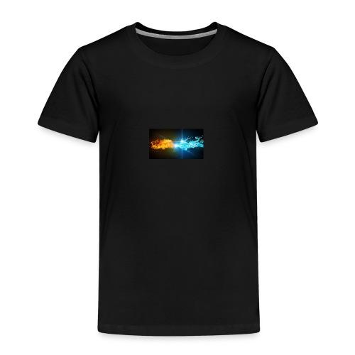 Water vs fire - Premium-T-shirt barn