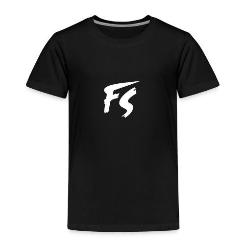 FS Logo wit - Kinderen Premium T-shirt