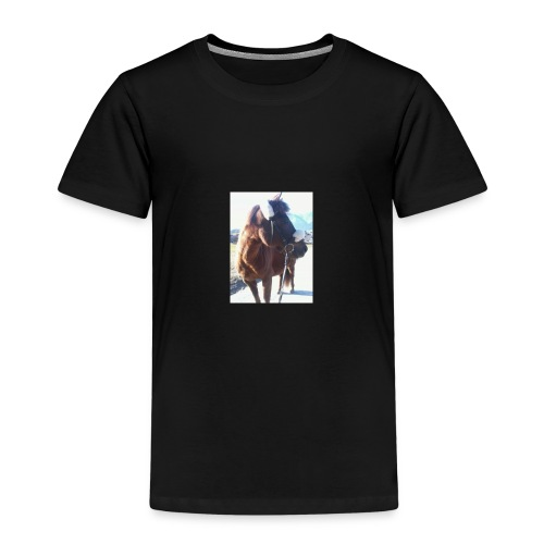 Pferd/Pony Stute - Kinder Premium T-Shirt